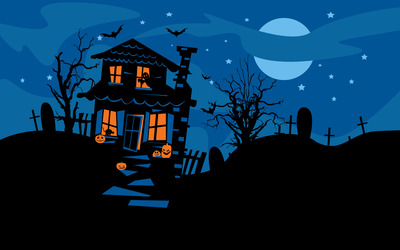 Haunted house [2] wallpaper