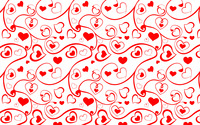 Heart and swirl pattern wallpaper 2880x1800 jpg