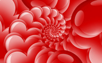 Heart spiral wallpaper 2880x1800 jpg