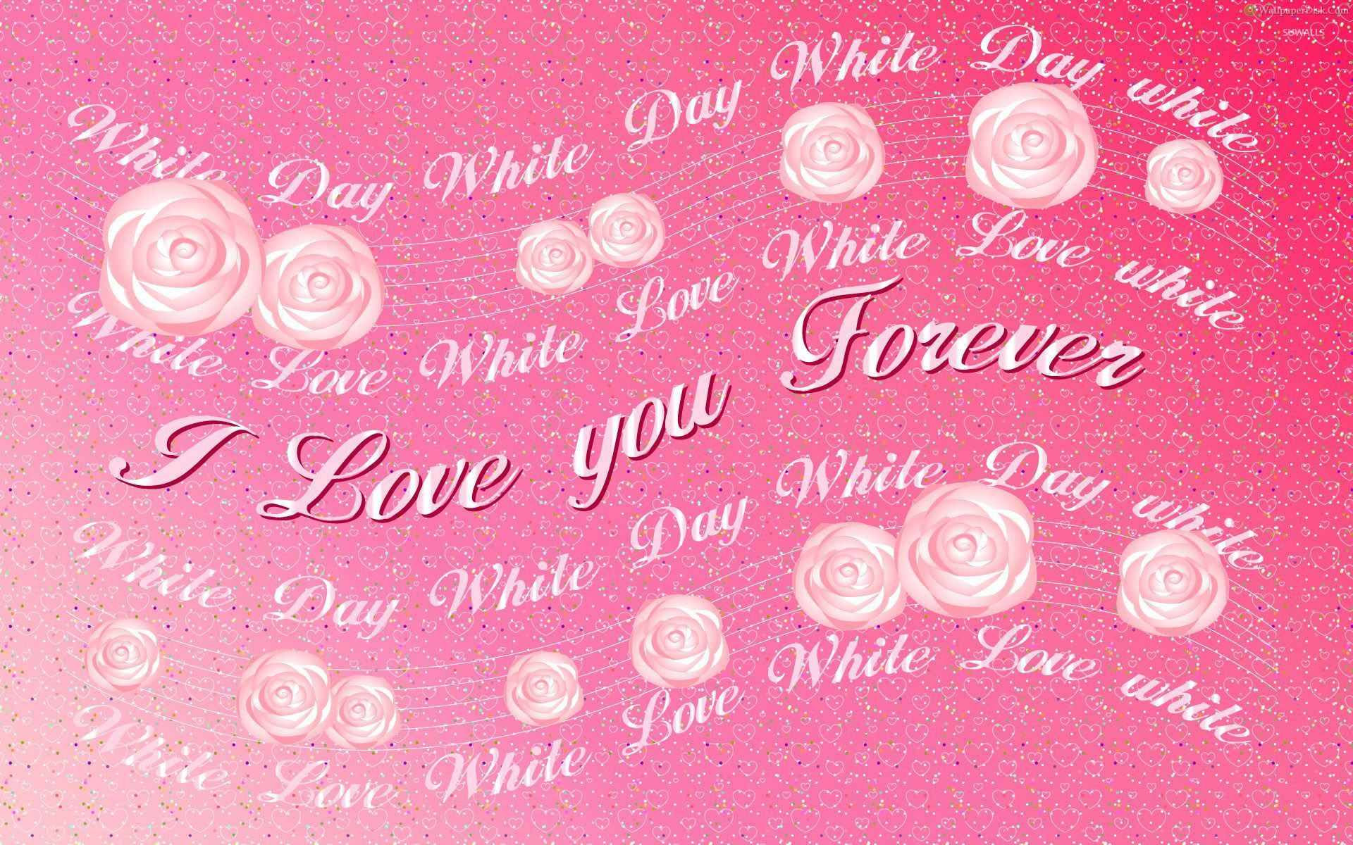 I love you forever wallpaper - Holiday wallpapers - #51343
