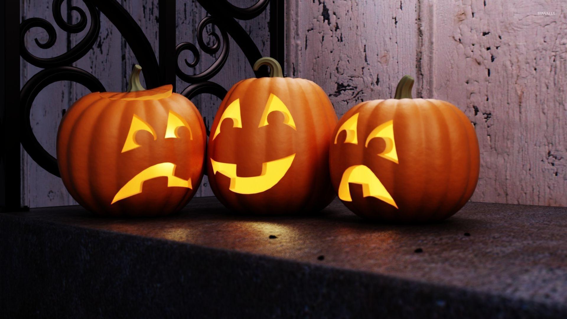 halloween pictures wallpaper pumpkin - photo #44