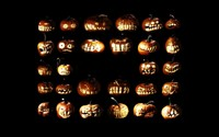 Jack-o'-lanterns [4] wallpaper 1920x1200 jpg