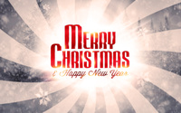 Merry Christmas and a Happy New Year wallpaper 2560x1600 jpg