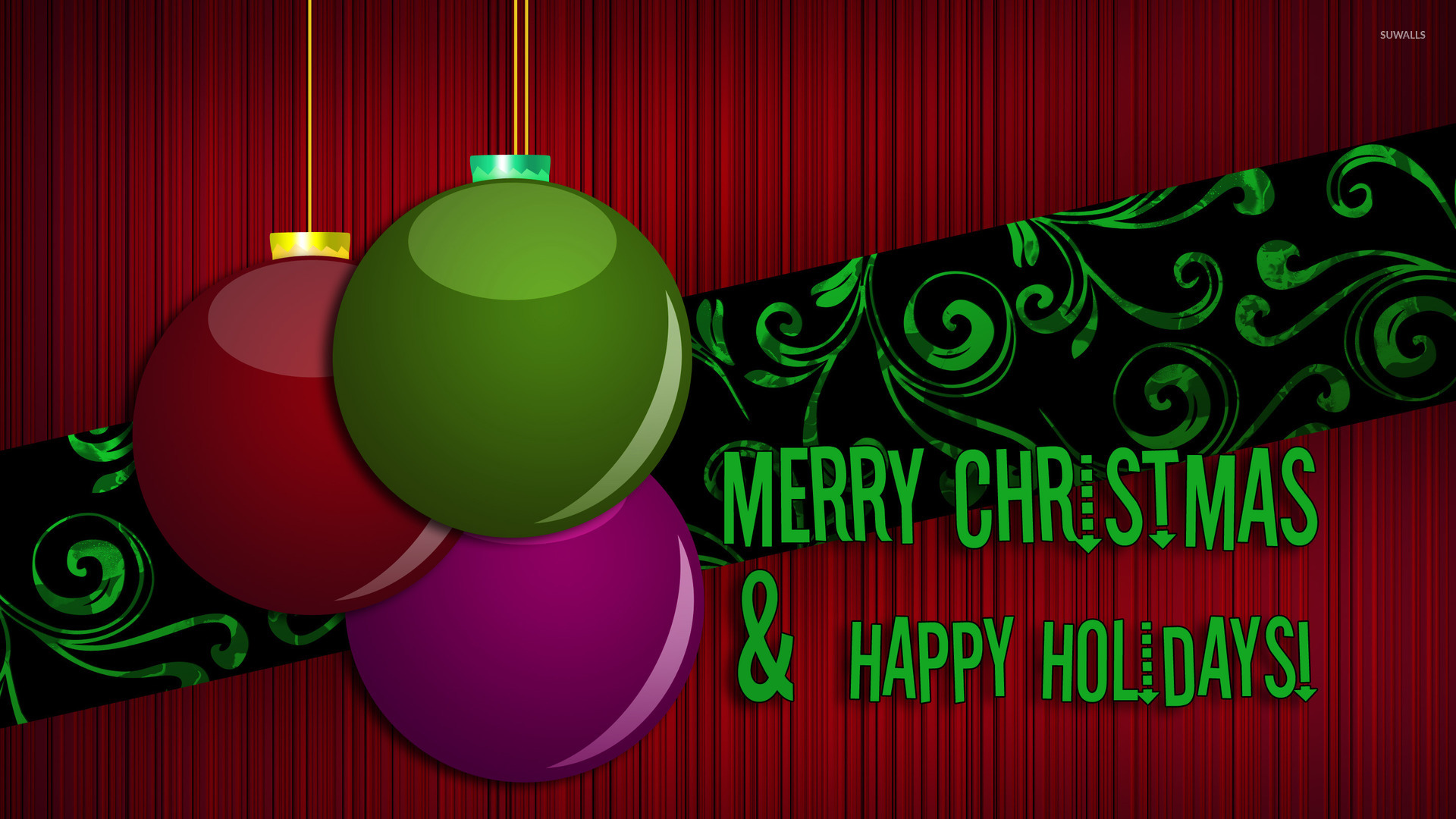 merry christmas wallpapers happy holidays