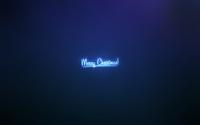 Neon Merry Christmas lighting the Christmas Eve wallpaper 1920x1200 jpg
