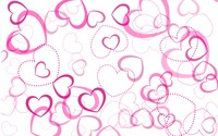 Pink hearts wallpaper 2880x1800 jpg