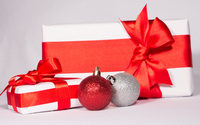 Presents and baubles wallpaper 3840x2160 jpg
