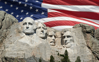 Presidents day wallpaper
