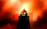 Pumpkin head wallpaper 1920x1080 jpg