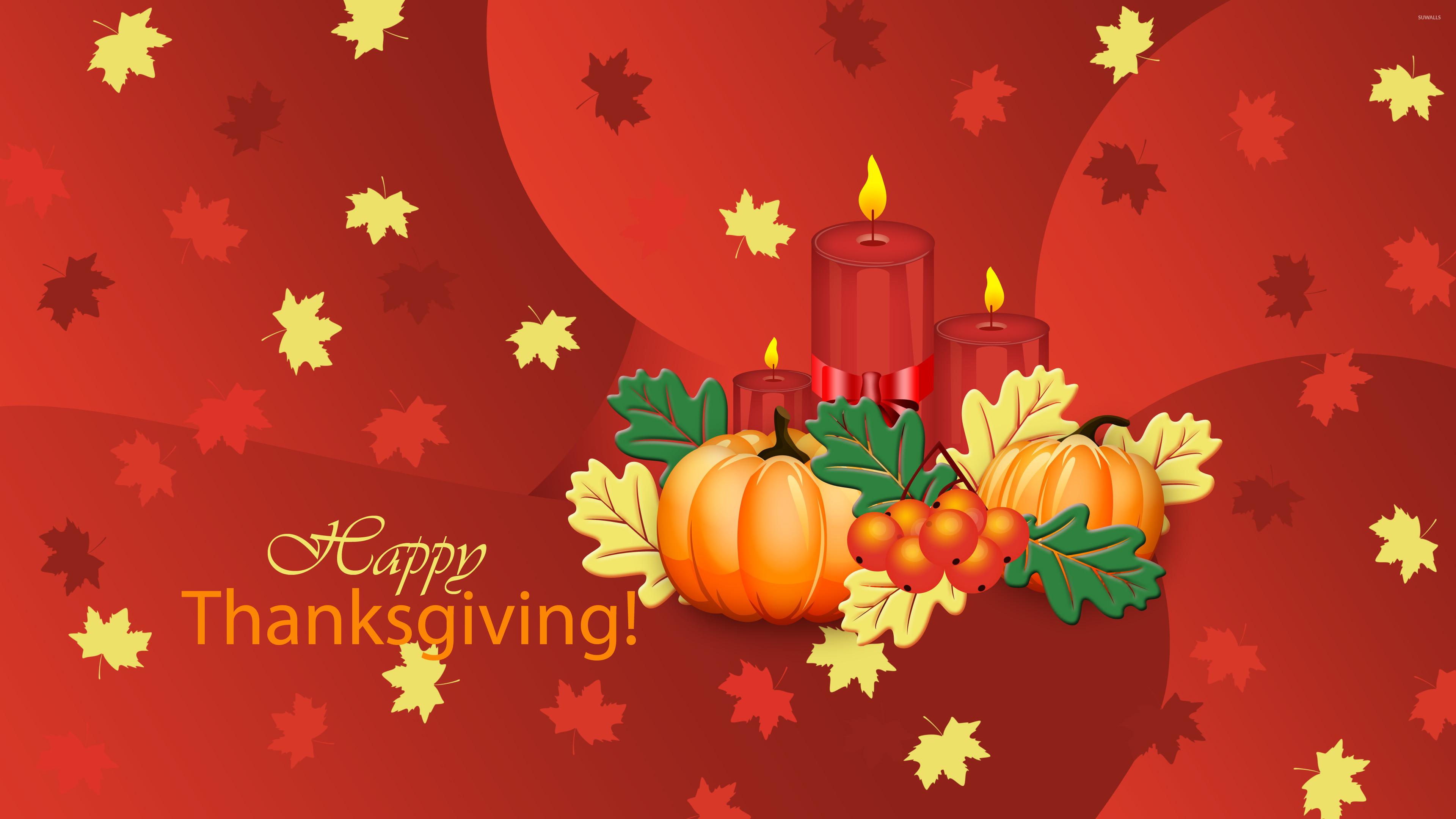 Thanksgiving Pumpkin Wallpaper