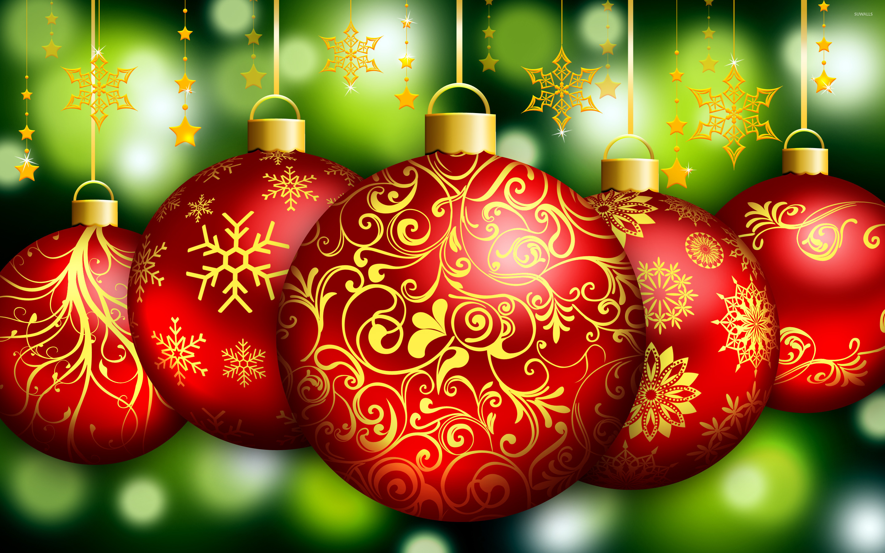 christmas bells 3 wallpaper holiday wallpapers 25728