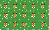 Reindeer pattern wallpaper 2880x1800 jpg