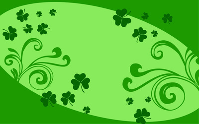 Shamrocks wallpaper