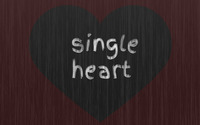 Single Heart wallpaper 1920x1200 jpg