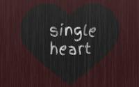 Single Heart wallpaper 1920x1200 jpg