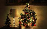 Small Christmas tree wallpaper 1920x1200 jpg