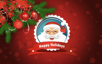 Smiling Santa Claus wallpaper 3840x2160 jpg
