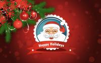 Smiling Santa Claus wallpaper 3840x2160 jpg