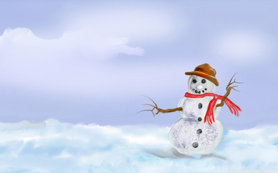 Snowman [10] wallpaper