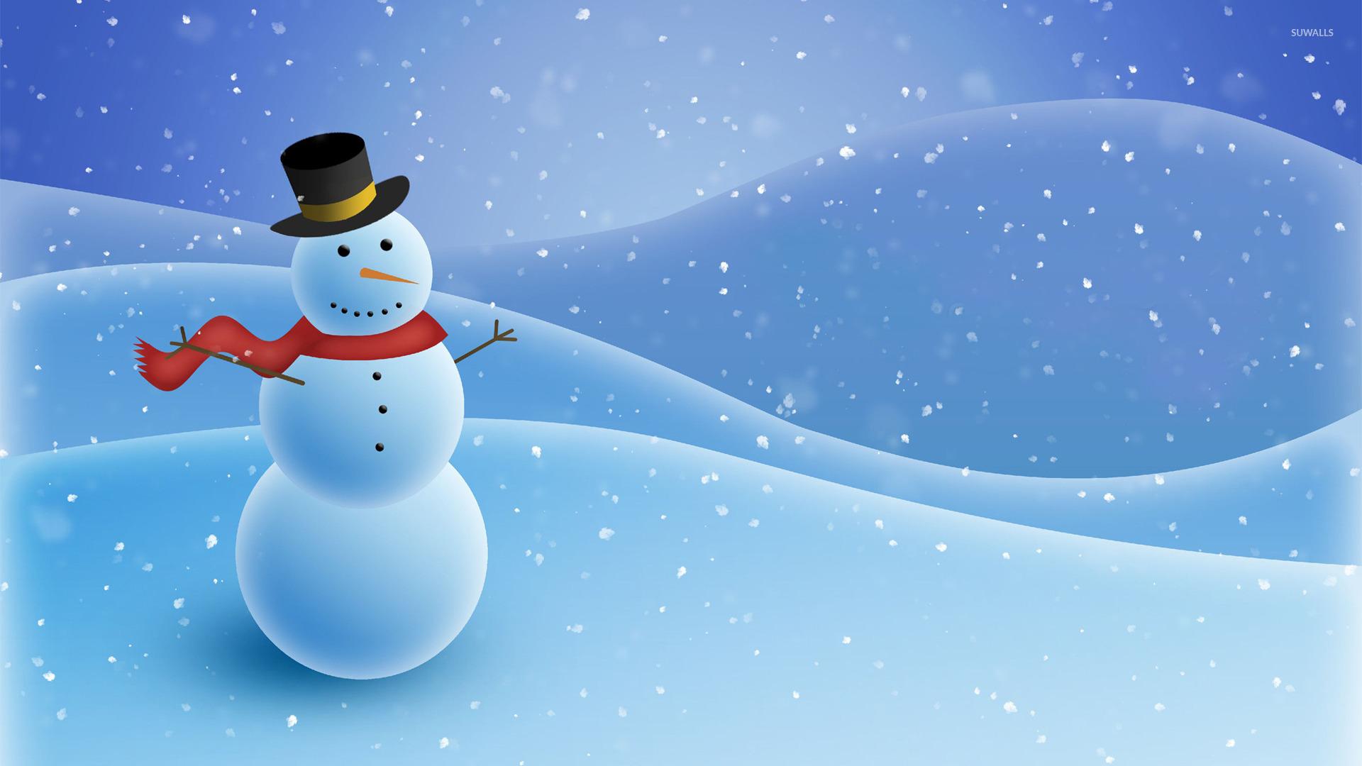 snowman 3 wallpaper holiday wallpapers 23584