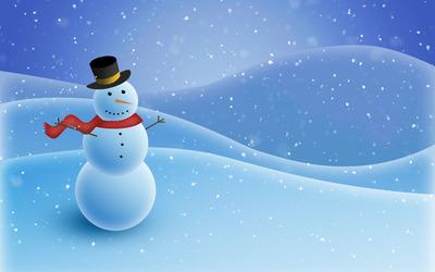 Snowman [3] wallpaper