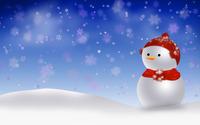 Snowman [4] wallpaper 2560x1600 jpg