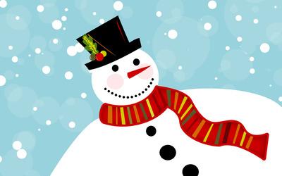 Snowman [11] wallpaper