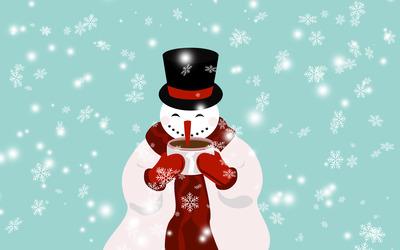 Snowman [9] wallpaper