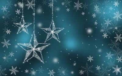 Sparkling stars wallpaper