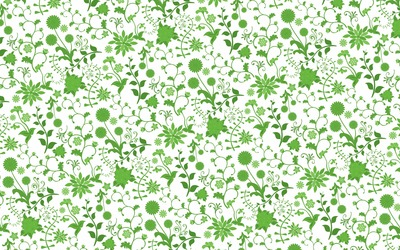 Spring flower pattern wallpaper