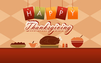 Thanksgiving meal wallpaper 3840x2160 jpg