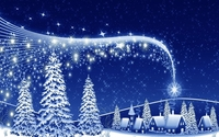 The magic of the Christmas night wallpaper 1920x1080 jpg