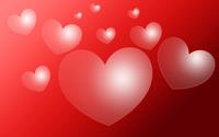 Transparent hearts wallpaper 2880x1800 jpg
