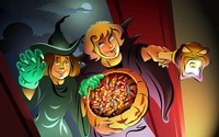 Trick or treating [2] wallpaper 1920x1200 jpg
