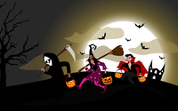 Trick-or-treating wallpaper 3840x2160 jpg