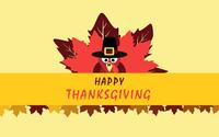Turkey at the Thanksgiving dinner wallpaper 3840x2160 jpg