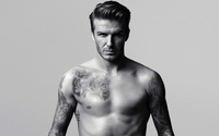 David Beckham showing his tattoos wallpaper 1920x1200 jpg