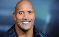 Dwayne Johnson portrait smiling wallpaper 1920x1200 jpg