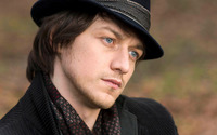 James McAvoy with a black hat wallpaper 1920x1200 jpg