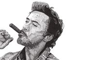 Robert Downey Jr. smoking wallpaper 2880x1800 jpg