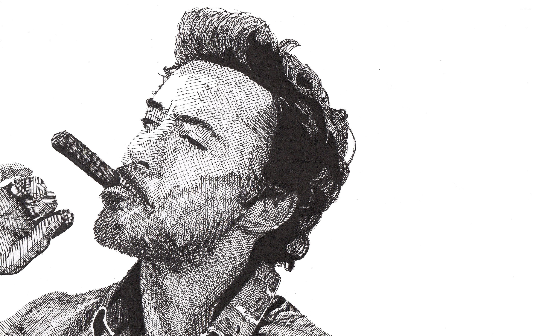 Wallpaper male celebrity smoking