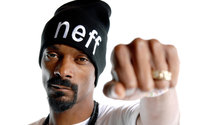 Snoop Dogg in a white t-shirt wallpaper 1920x1200 jpg