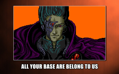 All your base are belong to us wallpaper