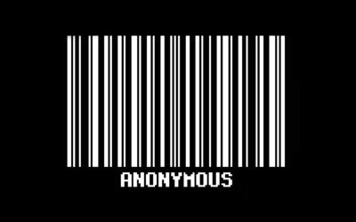 Anonymous Barcode wallpaper
