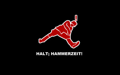 Halt, Hammerzeit! wallpaper