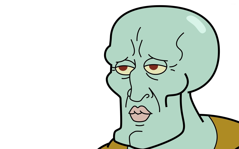 Handsome Squidward Meme