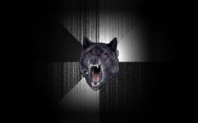 Insanity Wolf wallpaper