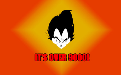 It's over 9000! wallpaper