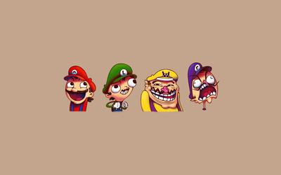 Meme Mario wallpaper