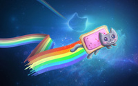 Nyan Cat wallpaper 1920x1080 jpg